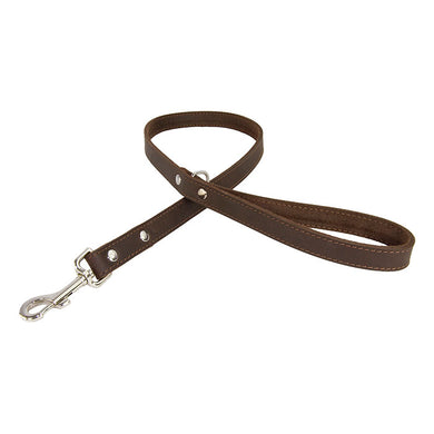 Earthbound Leather Whippet Lead - Brown