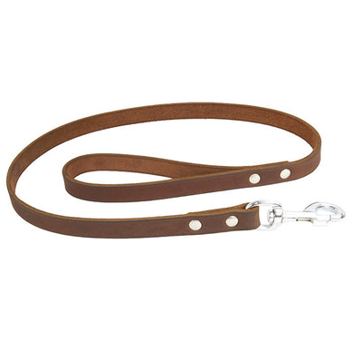 Earthbound Soft Country Leather Leash - Tan