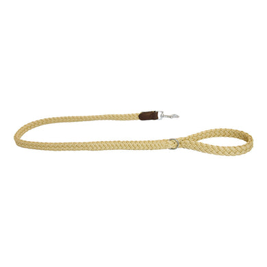 Earthbound Braided Leash - Beige