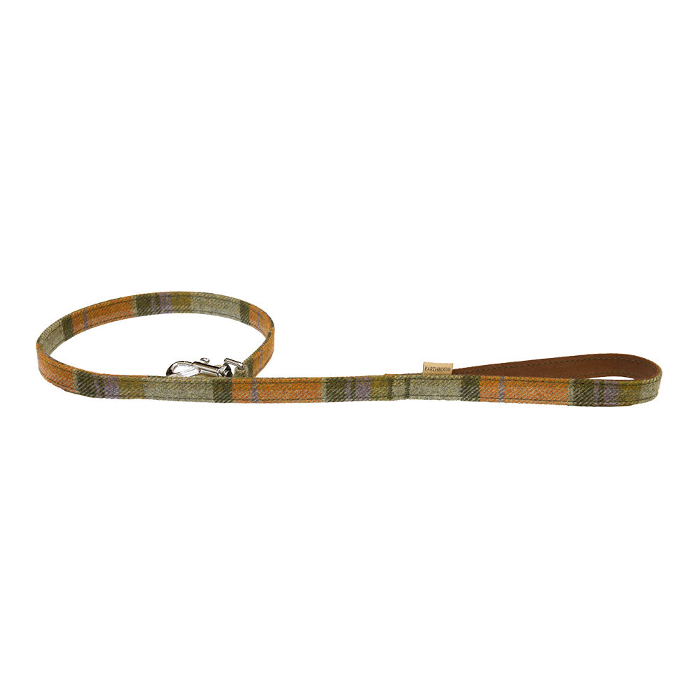 Earthbound Tweed Leash - Orange