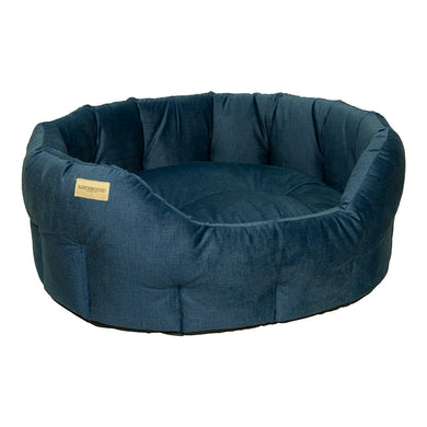 Classic Henbury Bed - Navy Blue