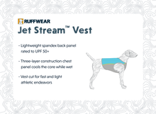 Load image into Gallery viewer, Ruffwear Jet Stream™ Cooling Vest - Blue Lagoon