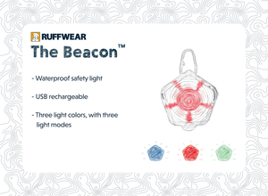 Ruffwear - The Beacon™ Safety Light high performance safety light