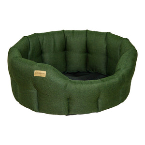 Classic Morland Bed - Dark Green