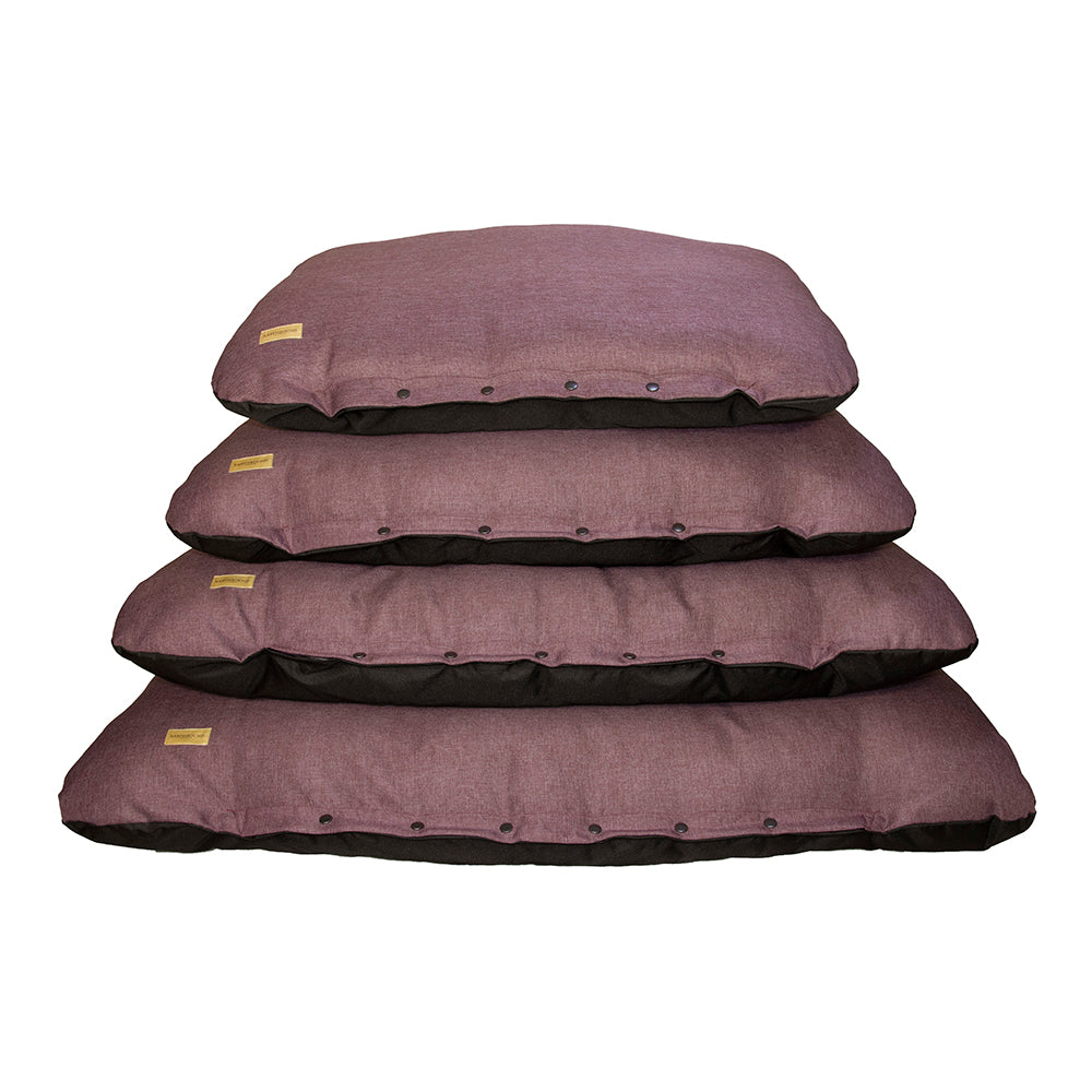 Earthbound - Flat Cushion Eden Mulberry