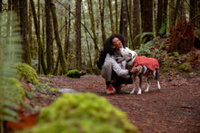 Load image into Gallery viewer, Ruffwear Overcoat™ Jacket abrasion-resistant, fleece-lined jacket - Red Clay