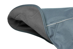 Ruffwear Overcoat™ Jacket abrasion-resistant, fleece-lined jacket - Slate Blue