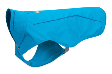 Ruffwear Sun Shower™ Rain Jacket non-insulated full coverage - Blue Dusk