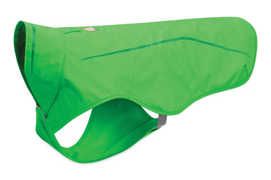 Ruffwear Sun Shower™ Rain Jacket non-insulated full coverage - Meadow Green