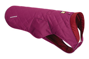 Ruffwear STUMPTOWN™ Quilted Dog Coat - Larkspur Purple