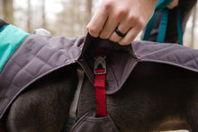 Load image into Gallery viewer, Ruffwear STUMPTOWN™ Quilted Dog Coat - Twilight Grey