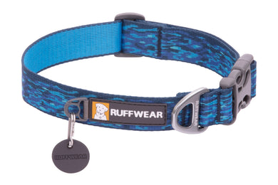 Ruffwear Flat Out™ Collar - Oceanic Distortion