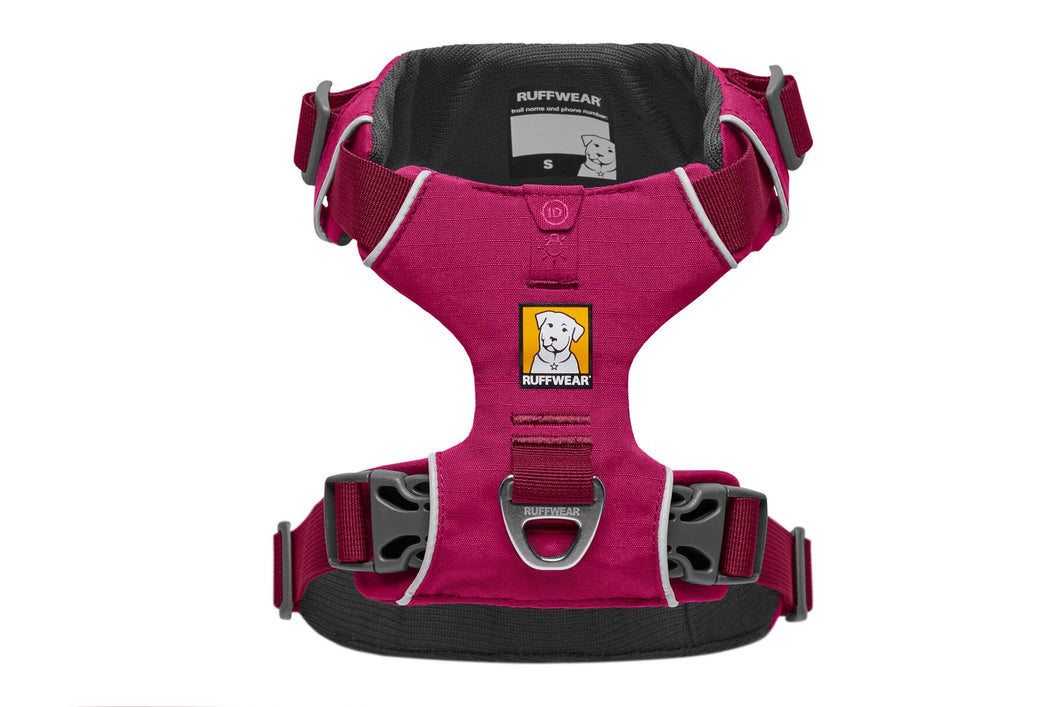 Ruffwear Front Range® Dog Harness in Hibiscus Pink