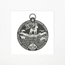 "Load image into Gallery viewer, ""Dog Tag"" print for Beagle lovers"