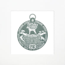 "Load image into Gallery viewer, ""Dog Tag"" print for Border Terrier lovers"