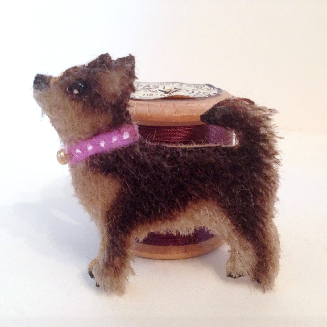 Hand-made Chihuahua Brooch