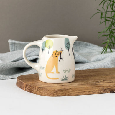 Handmade Ceramic Dog Milk Jug