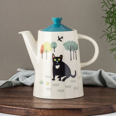 Handmade Ceramic Dog Teapot or Coffee Pot
