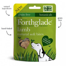 Load image into Gallery viewer, Forthglade natural soft bite treats with lamb