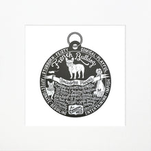 "Load image into Gallery viewer, ""Dog Tag"" print for French Bulldog lovers"