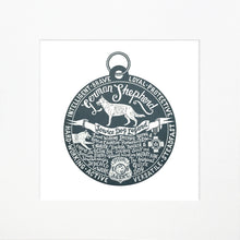 "Load image into Gallery viewer, ""Dog Tag"" print for German Shepherd lovers"