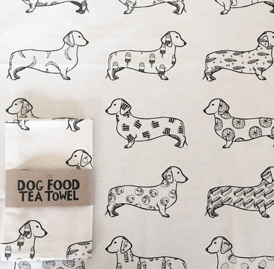 Foodie Tea Towel