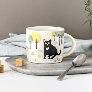 Hannah Turner Handmade Ceramic Dog Mug - Design 2
