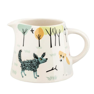 Handmade Ceramic Dog Jug