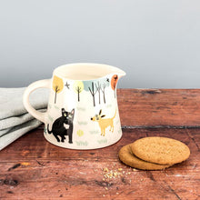 Load image into Gallery viewer, Handmade Ceramic Dog Jug