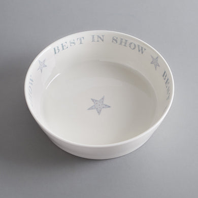 'Best in Show' Bone China Dog Bowl