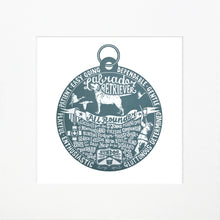"Load image into Gallery viewer, ""Dog Tag"" print for Labradoodle lovers"