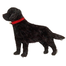 Load image into Gallery viewer, Black Labrador hand-made Brooch