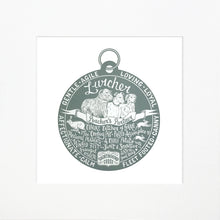 "Load image into Gallery viewer, ""Dog Tag"" print for Lurcher lovers"