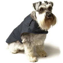 Load image into Gallery viewer, Mutts & Hounds Navy Waxed Coat