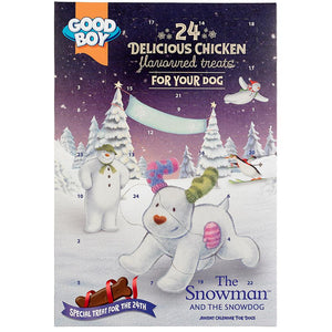 Good Boy - Snowman & Snowdog Advent Calendar!