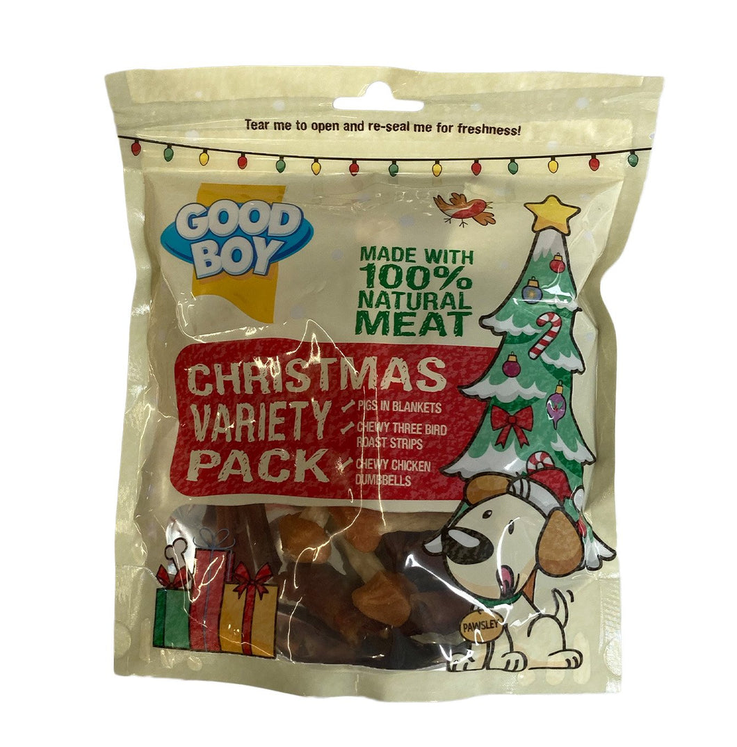 Good Boy Christmas Variety Pack - 280g