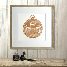 "Load image into Gallery viewer, ""Dog Tag"" print for Vizsla lovers"