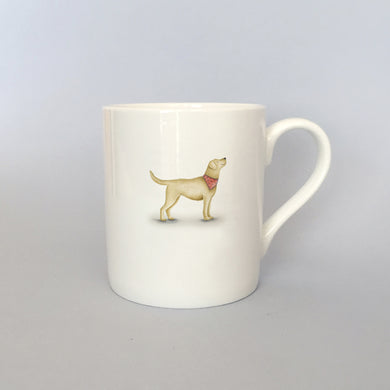 Beautiful Bone China Labrador Mug