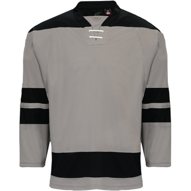 GREY STORM JERSEY - KOBE - ADULT GOALIE CUT