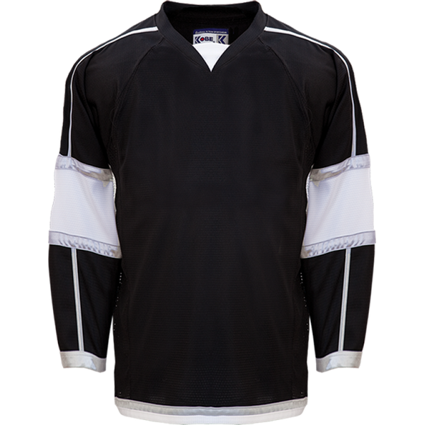 BLACK STORM JERSEY - KOBE - ADULT GOALIE CUT