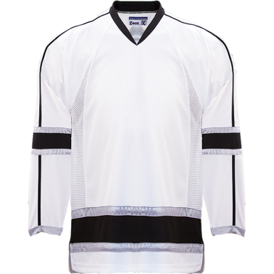 WHITE STORM JERSEY - KOBE - ADULT GOALIE CUT