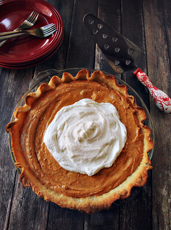Pumpkin Spice Cookie Butter Pie