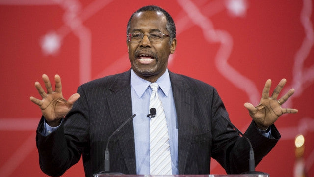 Carson Says Bringing Back 'Don't Ask, Don't Tell' Might Be a Good Idea