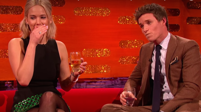 Eddie Redmayne Shocks Jennifer Lawrence With His Unfortunate Modeling Photos