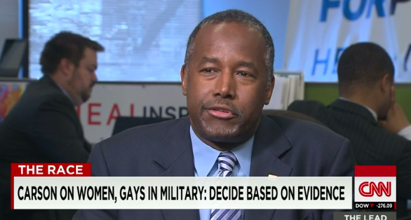 Ben Carson May Want To Ban Gays In The Military…Again