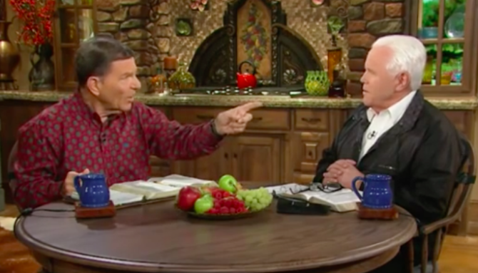 Watch Two Antigay Televangelists Defend Their Private Jets