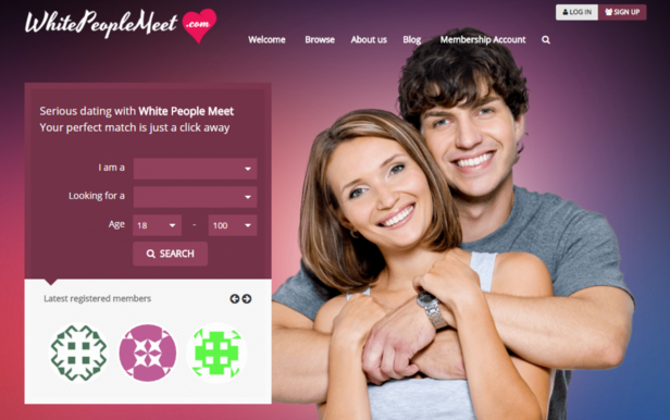 At Long Last, A Dating Site Exclusively For White Heterosexuals Seeking Other White Heterosexuals