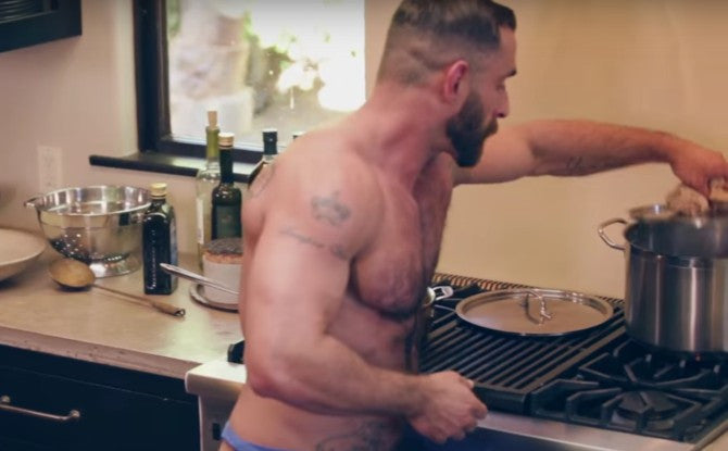 The Bear Naked Chef Is Still Slaving Over His Hot Stove