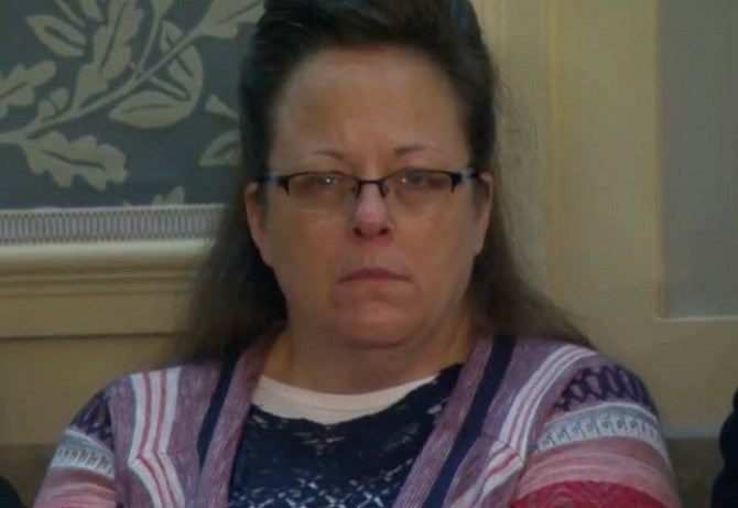 Kim Davis' State Of The Union Sweater Gets Read For Filth Across The Web