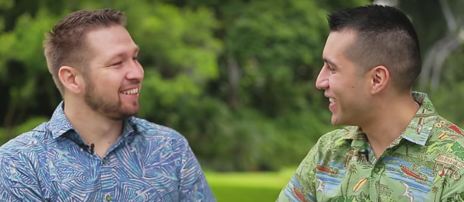 Gay Veterans Get Hawaii Wedding Surprise